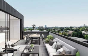 Architecture on show at two of South-East Melbourne's latest apartment developments