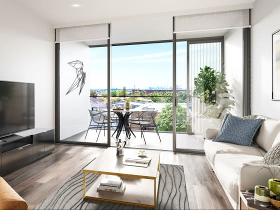 ALAND's latest development Cornerstone, offers stunning and light-filled residences.