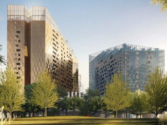 DOCKLANDS   NewQuay Promenade   411-423 Docklands Drive   18L & 22L   66m & 76m   Residential