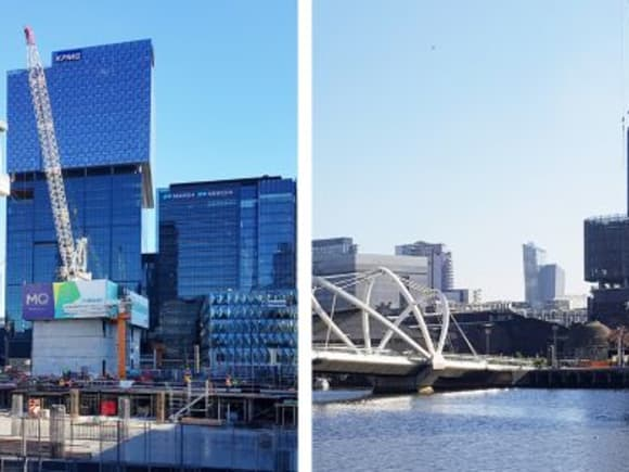 Docklands Places and Spaces, part four: Batmans Hill and Stadium