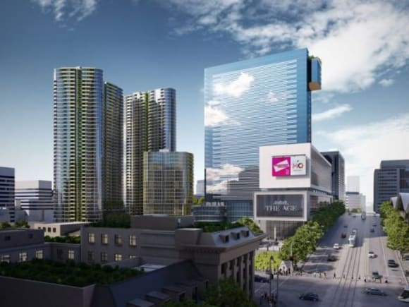 The current state of play at Lendlease's Melbourne Quarter