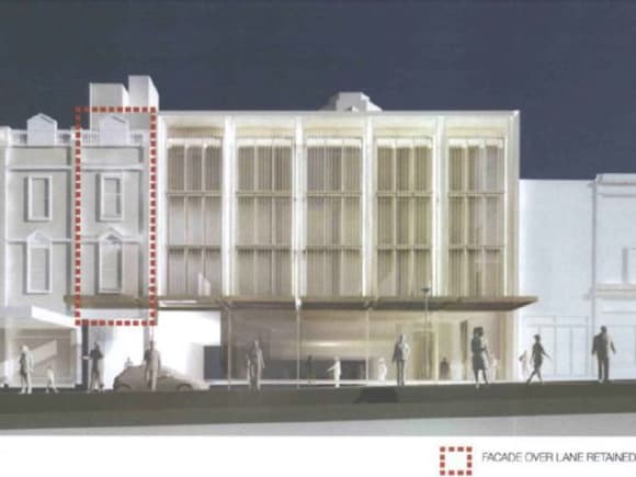 Blink and you'll miss it > The revised Palace Theatre proposal