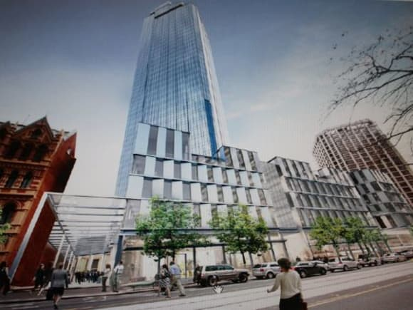 Rialtooooohh boy! Is this 525 Collins Street's redevelopment unveiled?