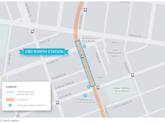 Melbourne Metro Rail stations: more detail released & comment