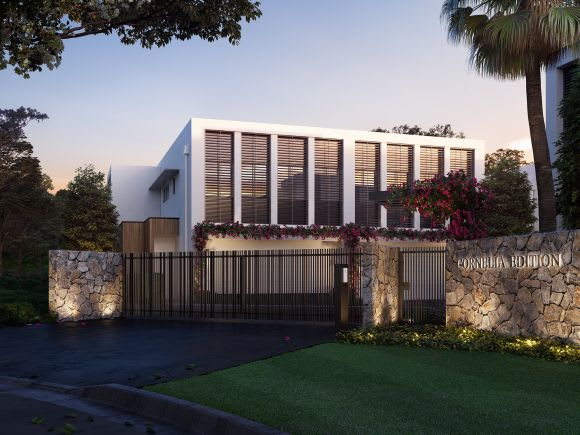 Palm Springs-inspired residences bring modern opulence to Cannon Hill