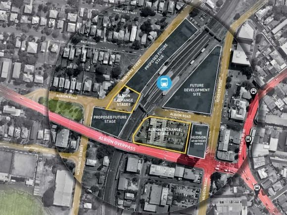 Albion Station's supersized transit oriented development revealed
