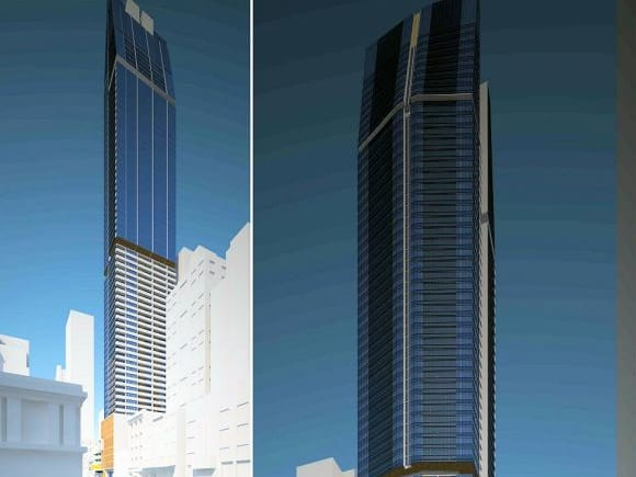 272-282 Queen Street as submitted. Planning image: Peddle Thorp