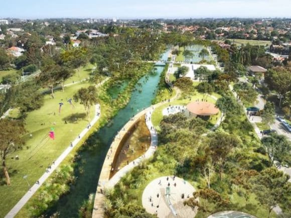 Sydney's GreenWay Draft Master Plan open for public comment