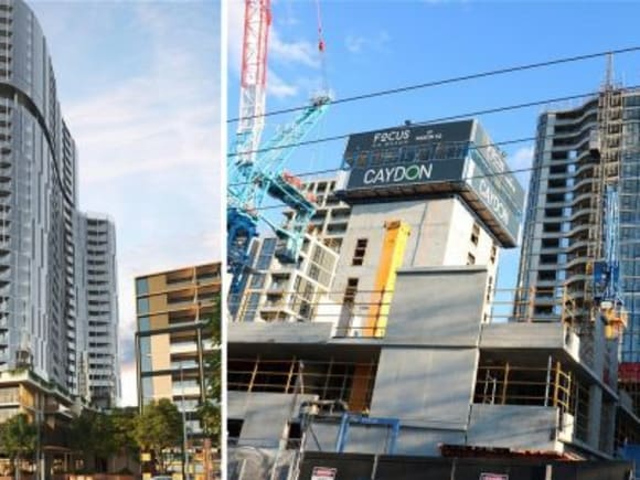 Melbourne's 'other' suburban skyscraper gets moving