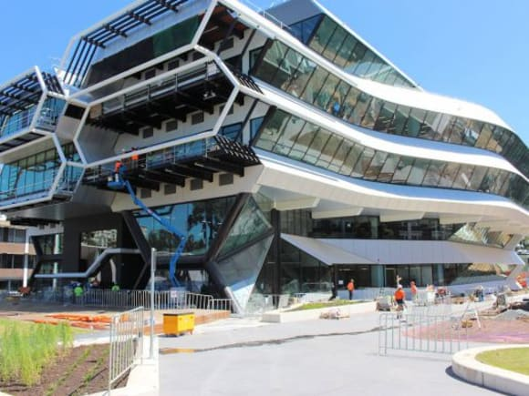 Monash University Clayton's design and construction boom