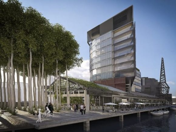 A reborn North Wharf adds to Melbourne's swelling hotel numbers