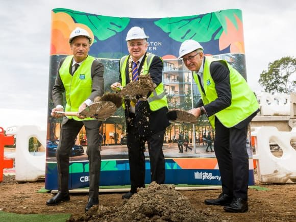 Sod turning ceremony: The Langston embarks on stage two of development