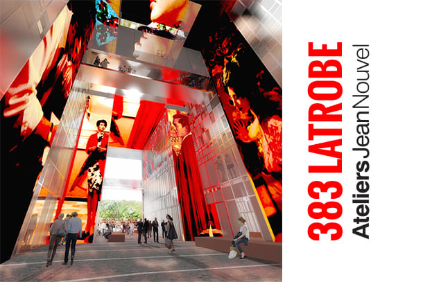 A rather Nouvel approach: 383 La Trobe Street designed to impress