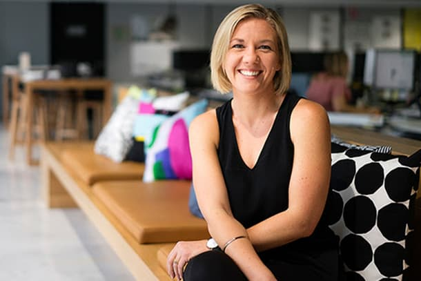 Woods Bagot principal Bronwyn McColl discusses the future of the modern workplace
