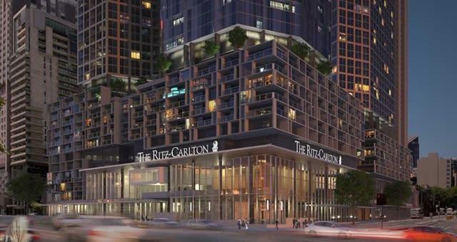 Ritz Carlton Melbourne. © Far East Consortium