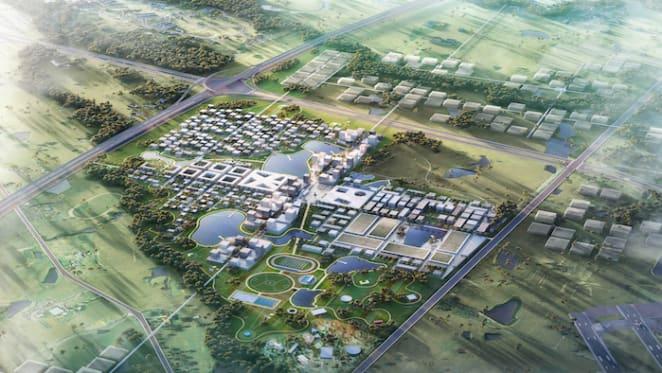 Aerotropolis masterplan unveiled by Boyuan for Badgerys Creek