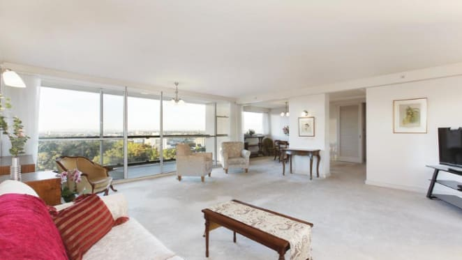 Robin Boyd designed Domain Park, South Yarra apartment sale at $2.91 million