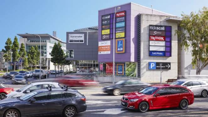 Large format retail portfolio hits the market