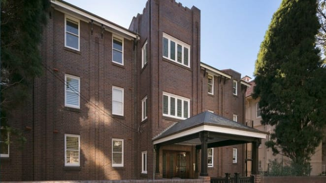Ainsley Gotto Edgecliff apartment listed for July auction