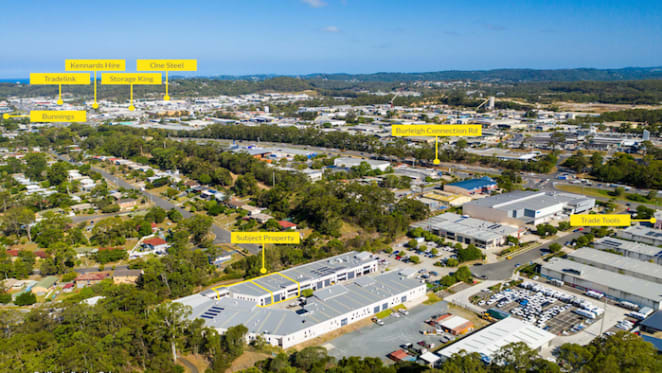 Two Gold Coast commercial units in-one-line sell for $1.275 million