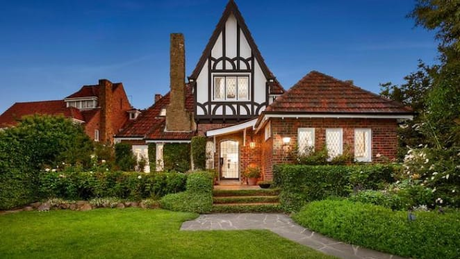 South Yarra 1930s Tudor house listed for sale