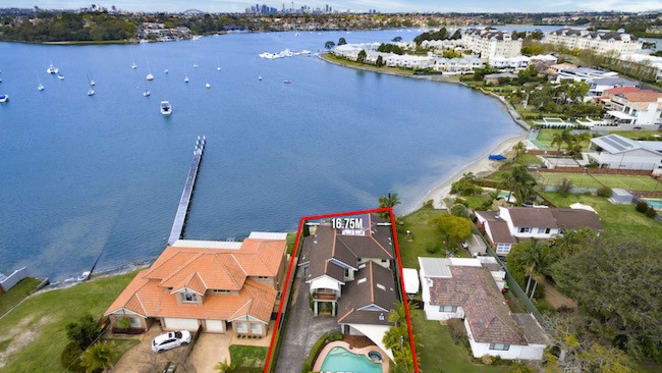 Agents suggest WestConnex helps smash Cabarita waterfront record