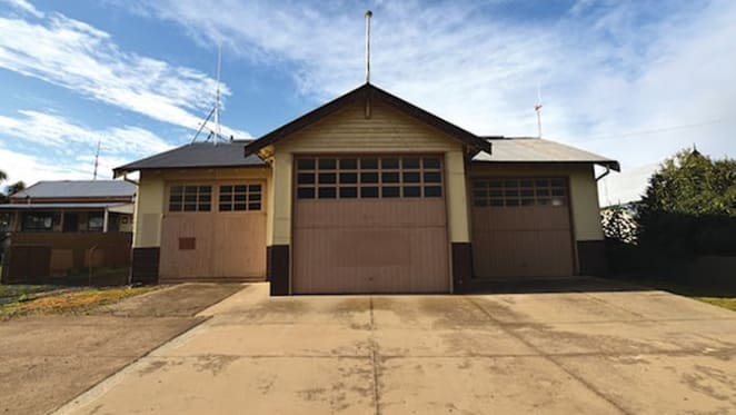 Former Rushworth landmark fire station for auction