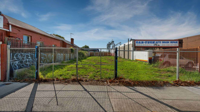 Site in Melbourne's Footscray up for auction with $1 million plus expectations