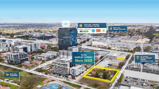 Eight strata unit vendors band together to sell half-acre Box Hill holding
