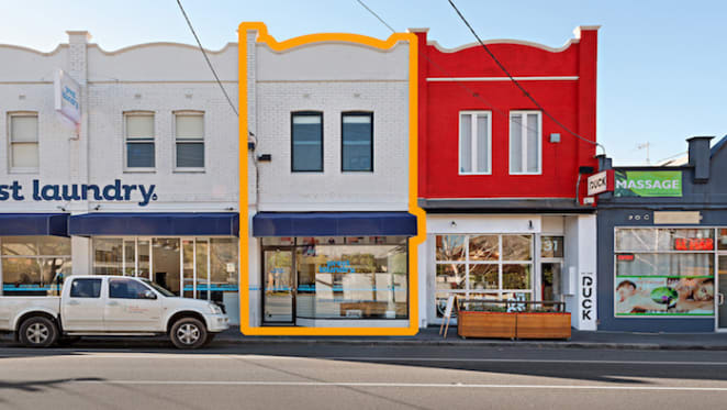 Richmond building with dual tenancy listed