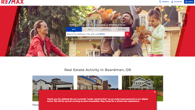 RE/MAX tops Franchise 500 again among estate agencies