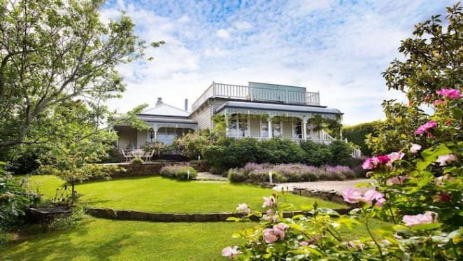 1890s country house at Daylesford listed for sale