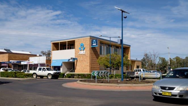 Established ANZ bank in Narrabri up for auction