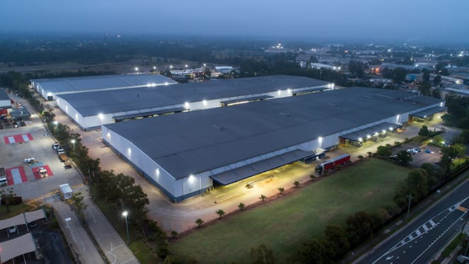 Forrester distribution centre secured by Shaw Fabrics