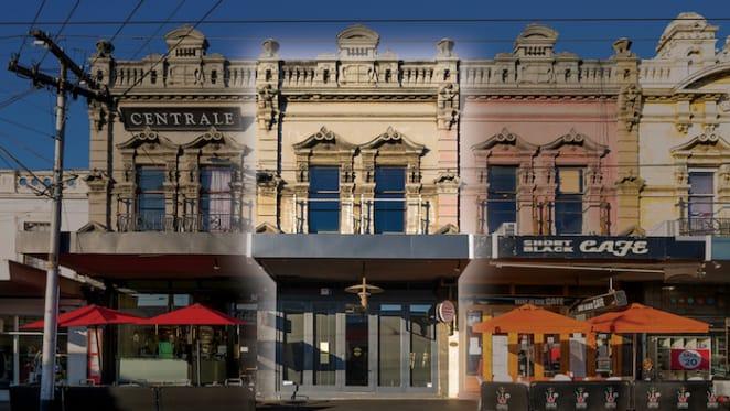 Edwardian style Richmond Hill retail building on market