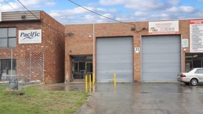 Food factory at Dandenong sold for $550,000