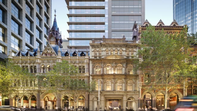 Mirvac and Suntec's Olderfleet Melbourne project tops out