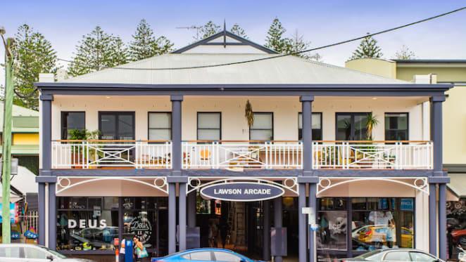 Lawson Arcade at Byron Bay set for investor battle