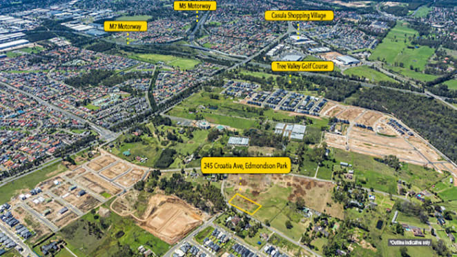 Development site in south-west Sydney listed
