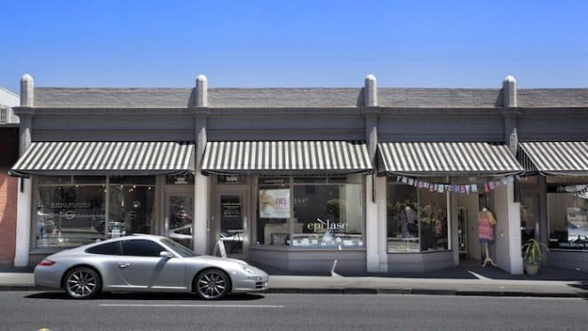 Retail property in Hawksburn Village, South Yarra sold