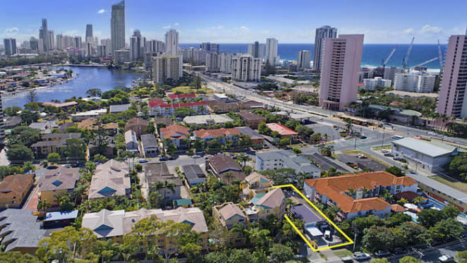 Surfers Paradise residential redevelopment site listed