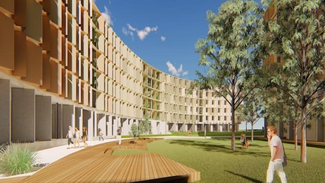 La Trobe University starts $100 million student accommodation project at Bundoora campus