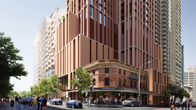 DA lodged for build-to-rent-building at Pitt Street south metro station
