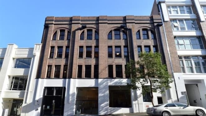 Converted Surry Hills warehouse office building listed