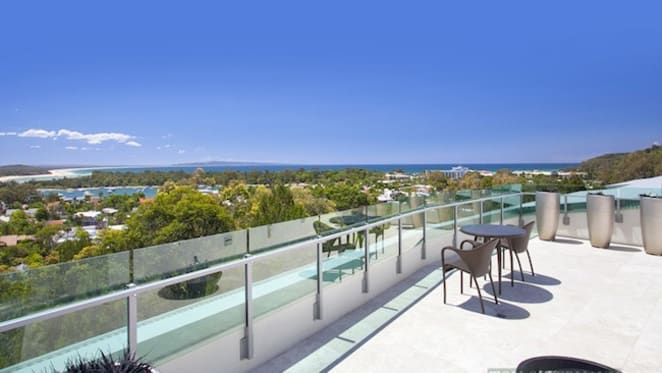 Noosa's Riverlight penthouse listed for sale