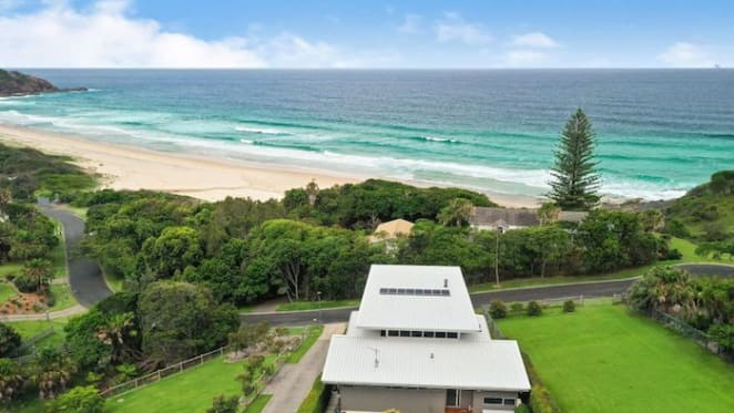 Blueys Beach three-storey oceanfront house for sale