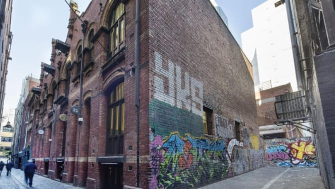 Nameless Melbourne CBD lane sold with future use a mystery