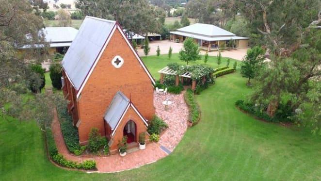 Riverina's Brucedale Chapel estate for auction