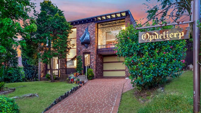 North Manly home, the Opdetjerp, for auction