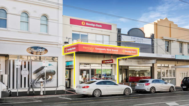 Ascot Vale ground floor retail investment sold for $935,000
